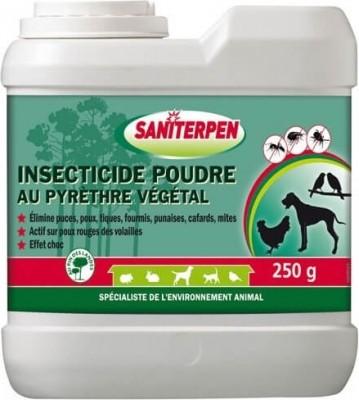 Insecticide en poudre au Pyrèthre Végétal Saniterpen