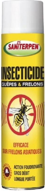 Aerosol vespe e calabroni Saniterpen - 600 ml
