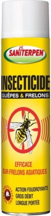 Aérosol guêpes et frelons Saniterpen - 600 ml