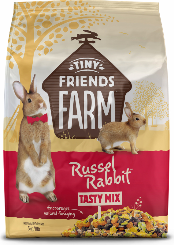 Tiny Friends Farm Russel Tasty Mix lapin