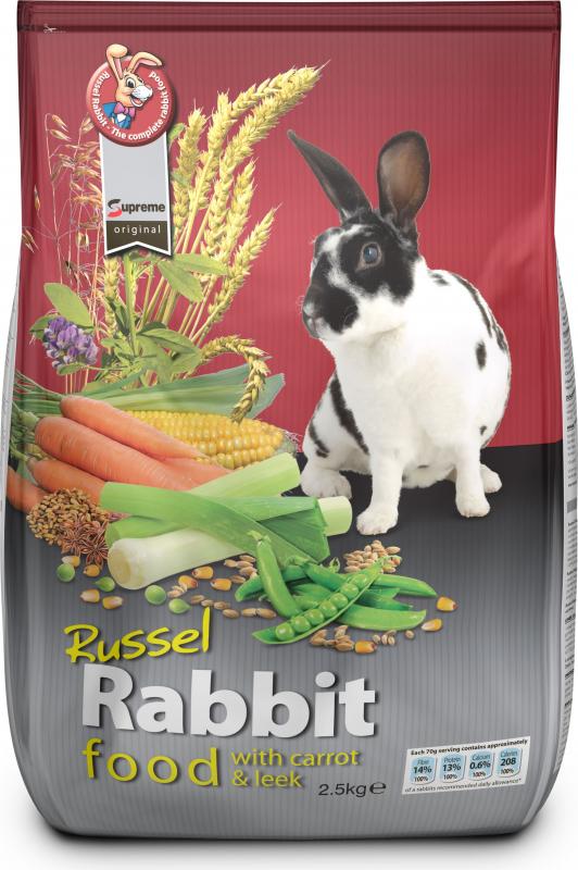Russel carottes & poireaux pour lapin Tiny Friends Farm