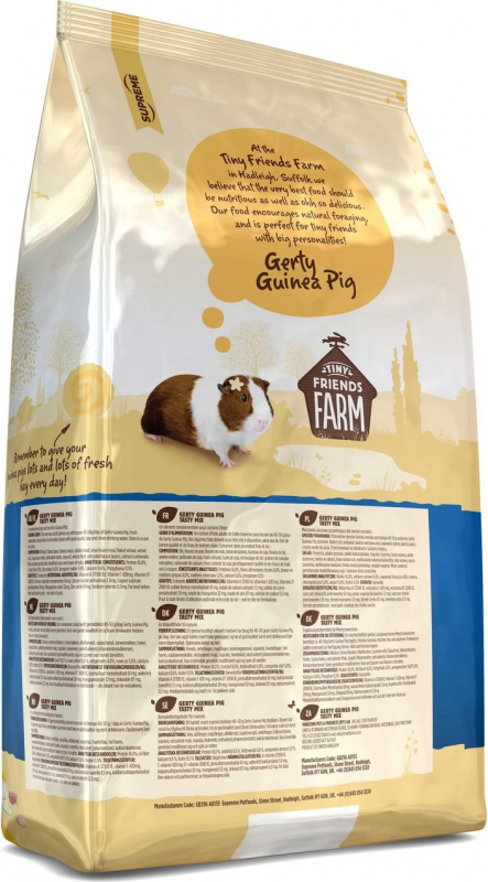 Tiny Friends Farm Gerty muesli Tasty Mix Cochon d'inde