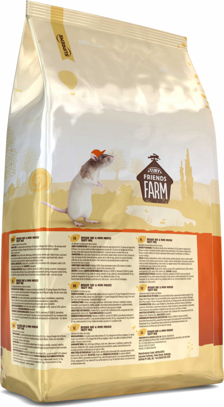 Tiny Friends Farm Reggie Tasty Mix rat et souris