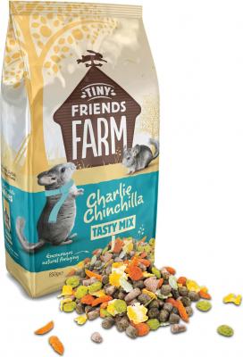 Tiny Friends Farm Charlie Tasty Mix chinchilla