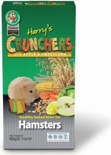 Biscuits Croustillants aux pommes et mais 80 grs hamster - Supreme Original