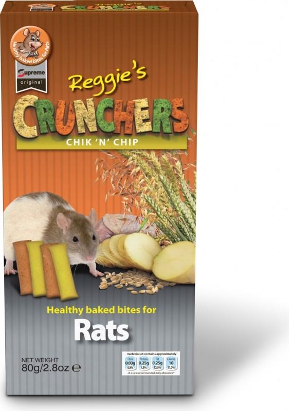 Biscuits Croustillants aux pommes de terre 80 grs rat - Supreme Original