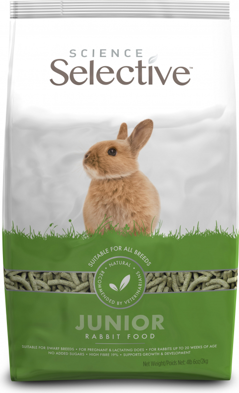 Selective para coelho junior Supreme Sciences