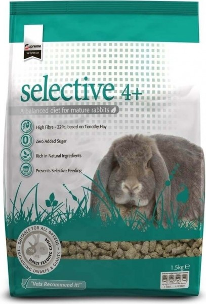 Selective pour Lapin mature 4+ Supreme Sciences