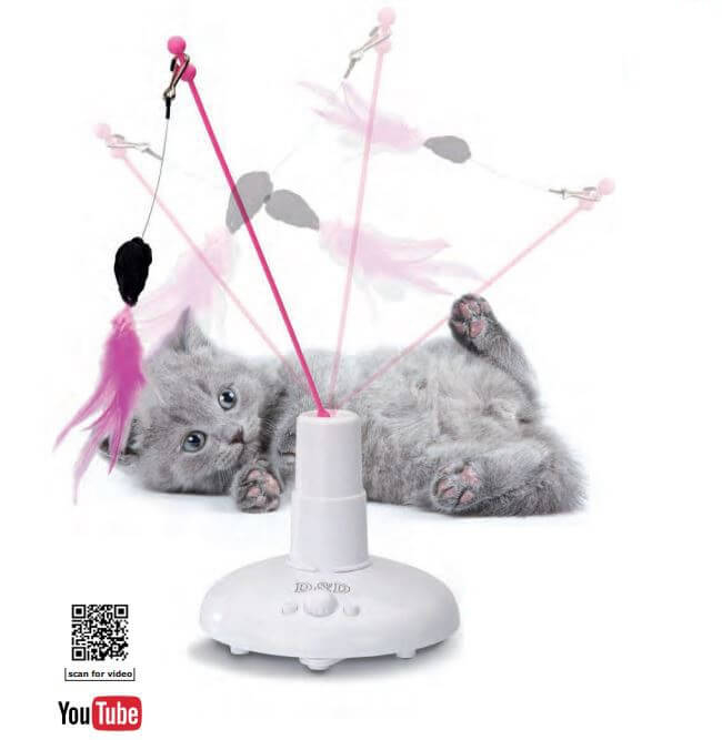 360 electronic cat toy cat toys. Black Bedroom Furniture Sets. Home Design Ideas