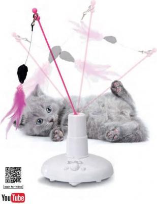 Elekktronisches Spielzeug  360° Jagd für Katzen - unterhaltsam und fördert die Beweglichkeit