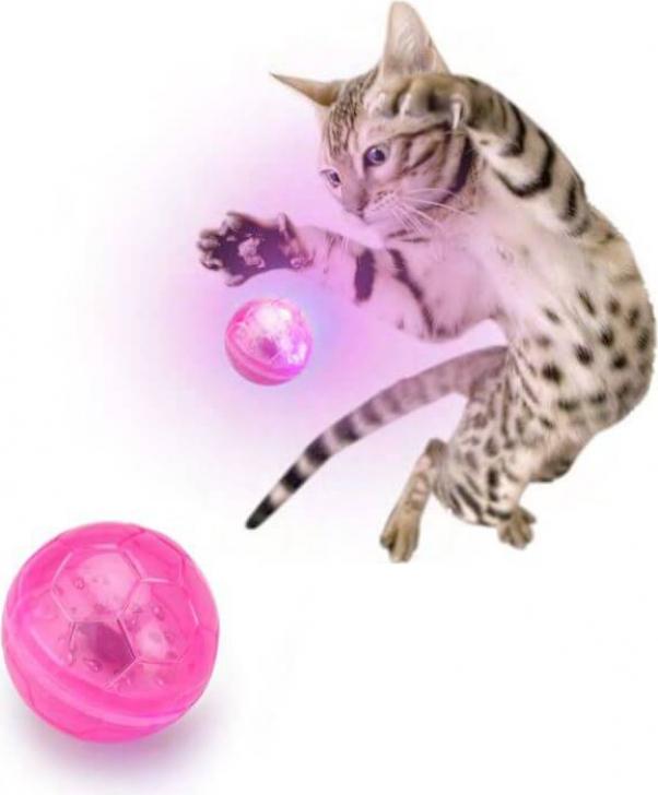 Cat-Flash Ball - Pelota luminosa para gato