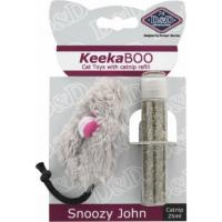 Jouet souris avec herbe à chat - Snoozy John