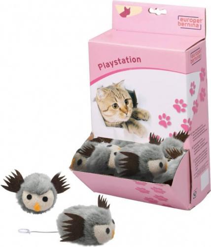 shaking owl vibrierendes spielzeug f r katzen spielzeuge f r katzen. Black Bedroom Furniture Sets. Home Design Ideas