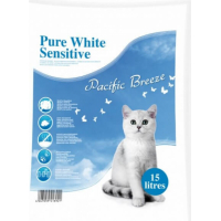 Pure White Litière Agglomérante Sensitive - Pacific Breeze