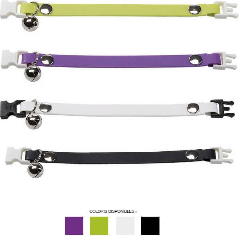 Collier Ergoflex CF12 / 19 cm pour chat - 4 coloris disponibles