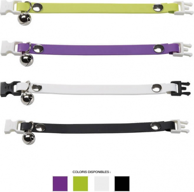 Collier Ergoflex CF12 / 25 cm pour chat - 4 coloris disponibles