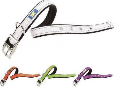 Collier en nylon Dual colours - différentes tailles disponibles en 4 couleurs
