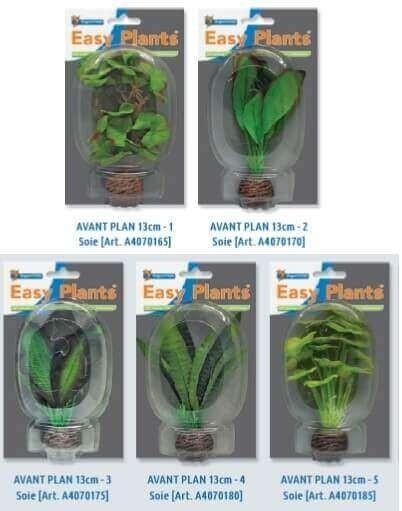 SF Plantes artificielles - Easy Plants Soie avant plan 13cm (5 modèles)_0
