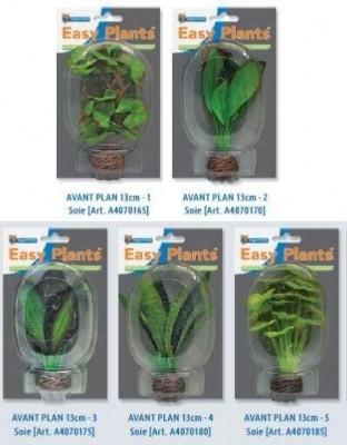 SF Plantes artificielles - Easy Plants Soie avant plan 13cm (5 modèles)
