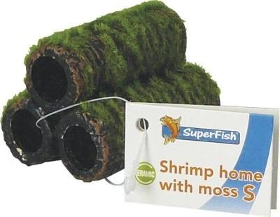 Déco shrimp home crevette céramique avec mousse