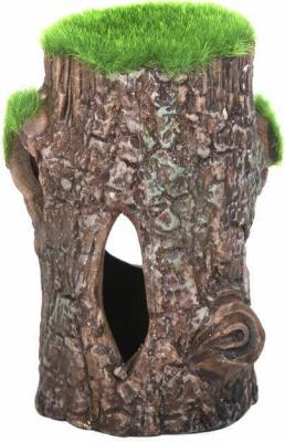 Déco maison dans l'arbre céramique avec mousse