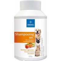 Shampoing sec senteur agrumes - Pour chien, chat et rongeur