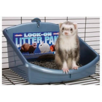 Lock-On Litter Pan