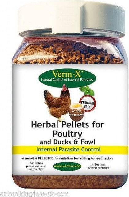 Verm-X Pellets for Poultry, Ducks and Fowl