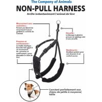 Harnais NON-PULL noir