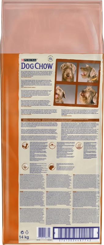 DOG CHOW pour chien Adulte Mature 5+ au poulet