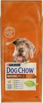DOG CHOW MATURE ADULT 5 + con pollo
