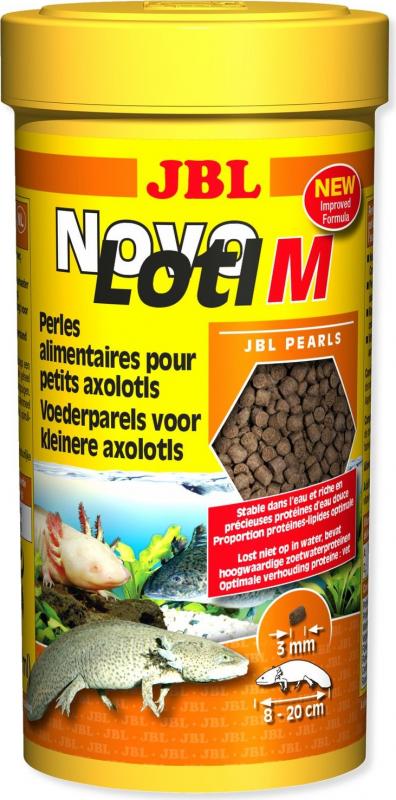 JBL NovoLotl perles alimentaires submersibles pour Axolotls