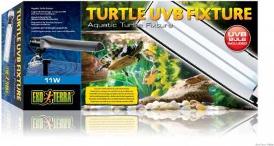 TORTUGA UVB FIXTURE / Aparato de iluminación acuáticos y  base de apoyo adhesiva.