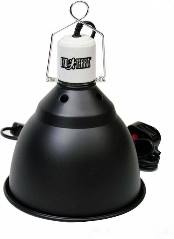 Light dôme / support de lampe à réflecteur UV en aluminium