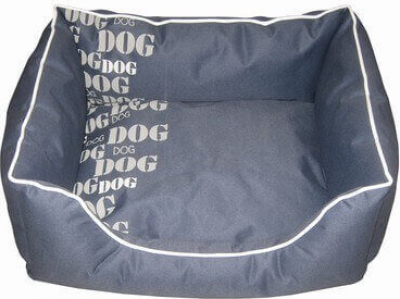 Panier Sofa ouatiné DOG´S FASHION gris