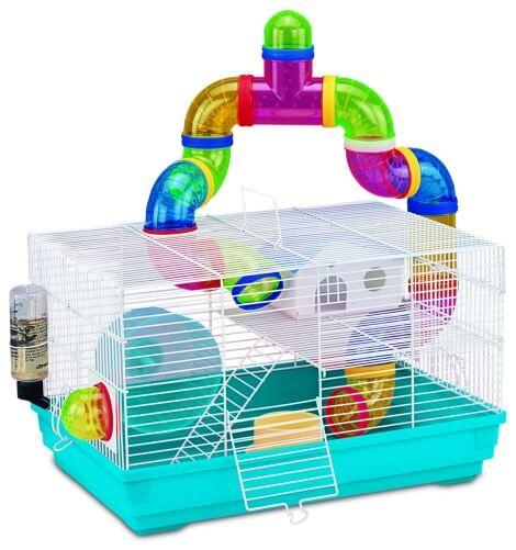 cage jungle pour petit rongeur cage hamster. Black Bedroom Furniture Sets. Home Design Ideas