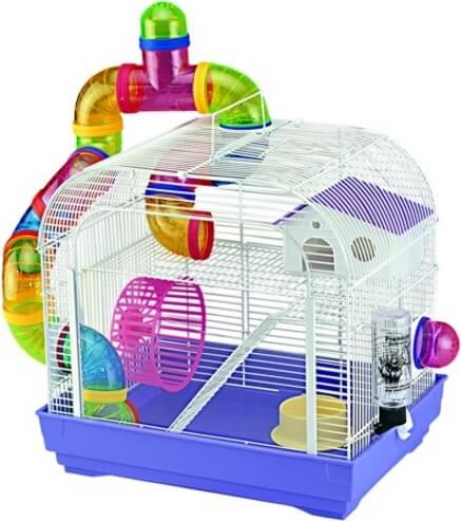 Crystal Hamster Cage