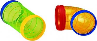 Accessoires pour cages rongeurs 4 tubes