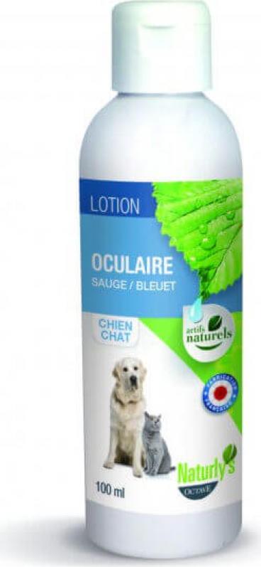 Lotion oculaire 100% naturelle sauge et bleuet