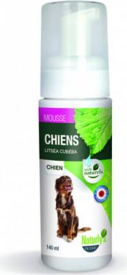 Shampoing mousse sans rinçage pour chien