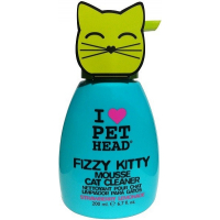 Shampooing sec pour chat PET HEAD Fizzy Kitty