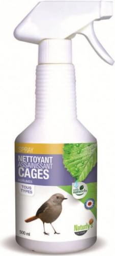 nettoyant cage 100 naturel nettoyage odeurs oiseaux. Black Bedroom Furniture Sets. Home Design Ideas
