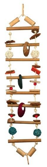 pont suspendu bambou 2 tailles jouet pour cage. Black Bedroom Furniture Sets. Home Design Ideas
