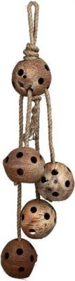 Noix de coco sur corde - 72 cm