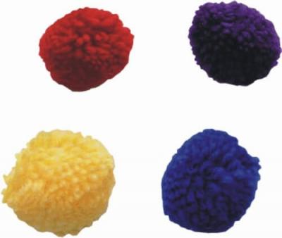 Pelotas de lana +/- Ø 4 cm