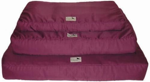 quadratische matratze cosy abziehbar in aubergine. Black Bedroom Furniture Sets. Home Design Ideas