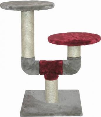 Arbre à chat Cactus gris & framboise