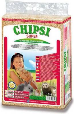 Litière Chipsi Super pour petits animaux allergiques ou sensibles