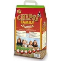 Einstreu Chipsi Family mit Maisschrot für kleine Nagetiere