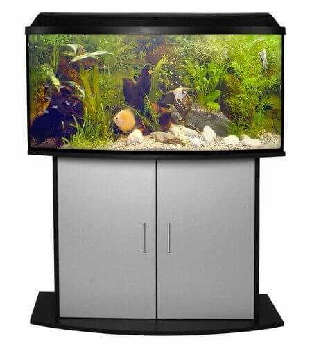 meuble pour aquarium atlantic 60 anthracite aquarium et meuble. Black Bedroom Furniture Sets. Home Design Ideas